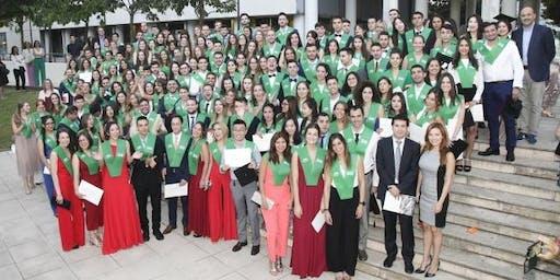 Graduació de Turisme, Turisme en Anglès i Direcció Hotelera de la UAB. Promo 2019