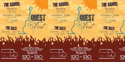 Quest Fest - Outdoor Music Festival w/Food Trucks