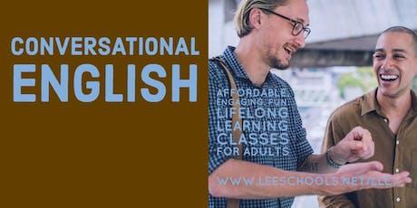 Conversational English @Dunbar Community School 8/20-9/5 tickets