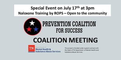 Naloxone Training by ROPS at PC4S Coalition Meeting