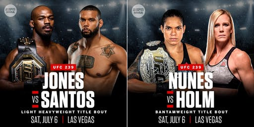 PPV UFC 239 New Orleans Watch Party