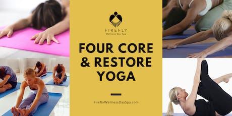 Core Four & Restore Yoga tickets