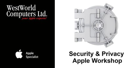 Security and Privacy with Apple Workshop tickets