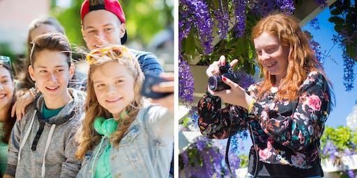 Teen & Tween Photo Adventure Camp