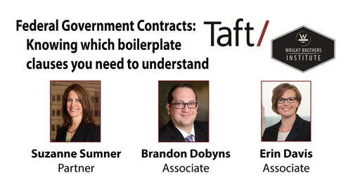 Fed Gov Contracts: Knowing which boilerplate clauses you need to understand