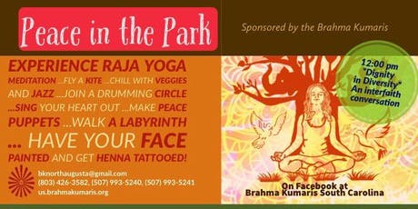 5th Annual Peace in the Park - An event to bring the community together tickets