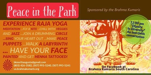 5th Annual Peace in the Park - An event to bring the community together