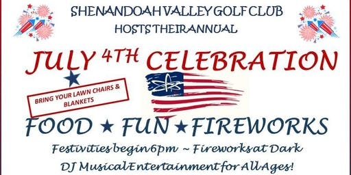 Fourth of July Celebration at Shenandoah Valley Golf Club