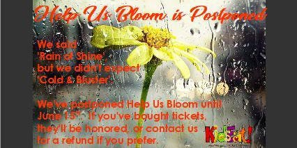 Help Us Bloom Garden Party to benefit KidsEat! Foundation