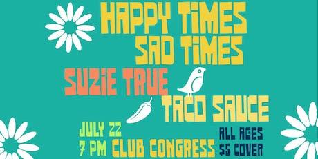 Suzie True tickets