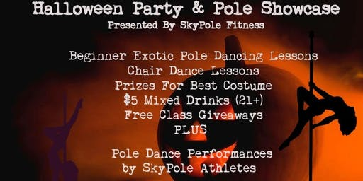 Halloween Party & Pole Showcase Bash