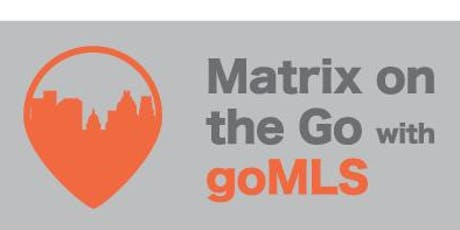 Matrix on the Go with goMLS – San Marcos tickets