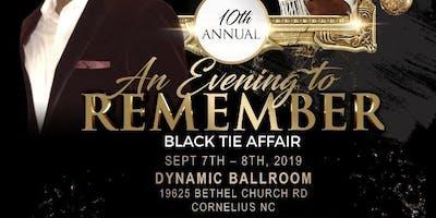 10th Annual Black Tie Affair