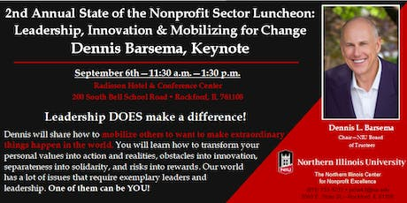 State of the Sector: Mobilizing for Change with Dennis Barsema, Keynote tickets