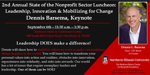 State of the Sector: Mobilizing for Change with Dennis Barsema, Keynote