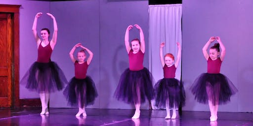 Beginning Dance with Miss Jordan - Ages 3-6