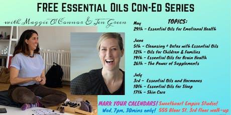 FREE Essential Oils Con-Ed Series tickets