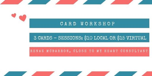 July 2019 Card Workshop