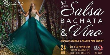 Salsa Bachata & Vino  tickets