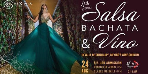 Salsa Bachata & Vino