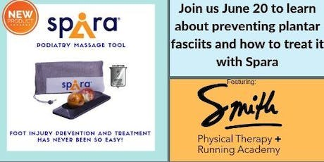 Treating Plantar Fasciitis: Featuring Spira and Smith Physical Therapy + Running Academy tickets