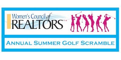 SPONSOR: Annual Summer Golf Scramble!