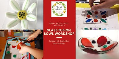 Fused Glass Bowl Workshop