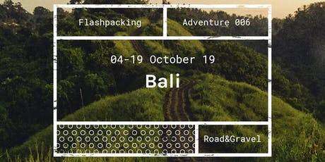 TH Adventure 006 - Bali tickets