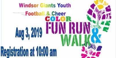 Windsor Giants Color Fun Run