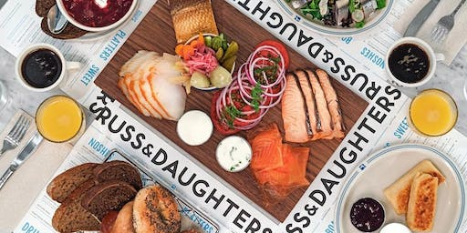 Young Patron Shabbat Dinner at Russ & Daughters at the Jewish Museum