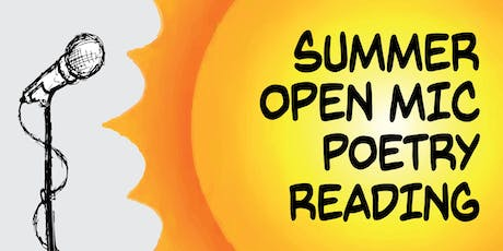 Summer Open Mic Poetry Reading tickets