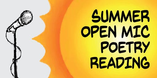 Summer Open Mic Poetry Reading