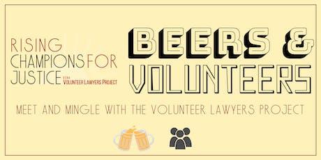Beers and Volunteers tickets
