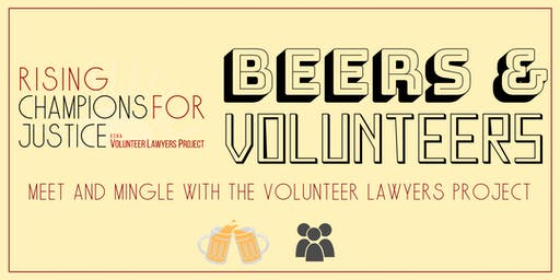 Beers and Volunteers