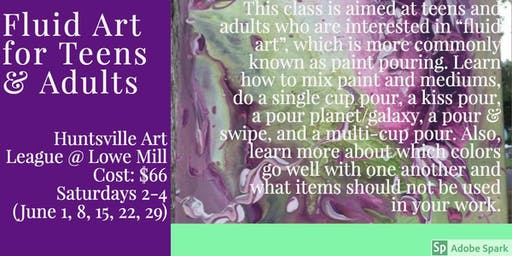 Fluid Art for Teens & Adults