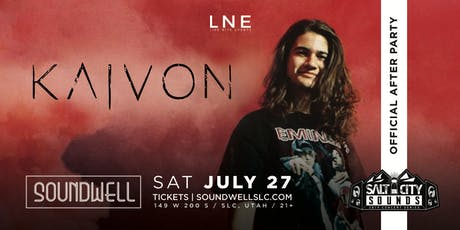 Official Salt City Sounds After Party ft. KAIVON tickets