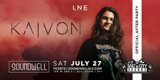 Official Salt City Sounds After Party ft. KAIVON