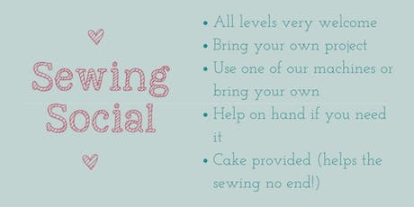 June Sewing Social tickets