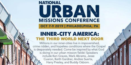 2019 NATIONAL URBAN MISSIONS CONFERENCE tickets