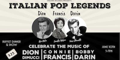Italian Pop Legends: Dion, Darin & Francis