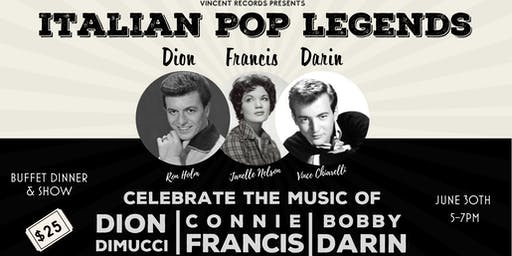 Italian Pop Legends: Dion, Darin & Francis