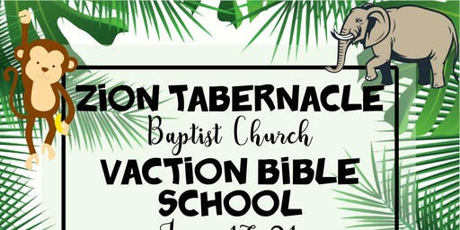 SUMMER VACATION BIBLE SCHOOL