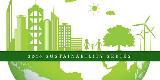 "Sustainability Series:Darrel Mussato: ""Municipal leadership in sustainable urban development."""