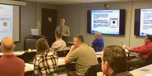 FEMA Continuity of Operations Program (COOP) Manager - Train the Trainer