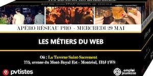 Apéro Réseau Pro - Les métiers du Web