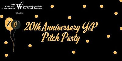YiP 20th Anniversary Pitch Party
