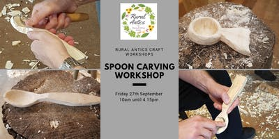 Beginners Spoon Carving Workshop