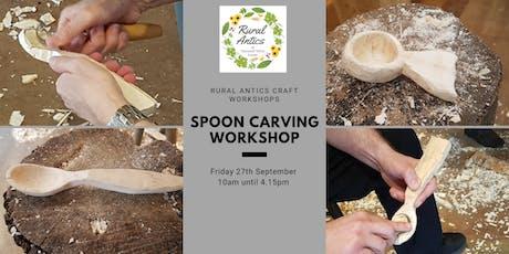 Beginners Spoon Carving Workshop tickets