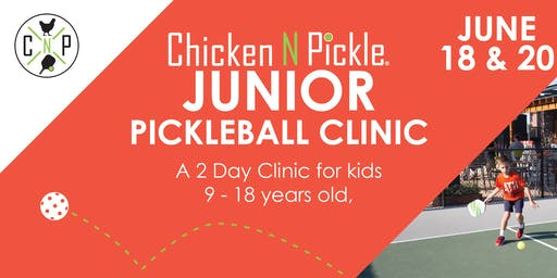 Junior Pickleball Clinic- Week 3