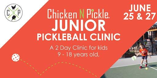 Junior Pickleball Clinic- Week 4